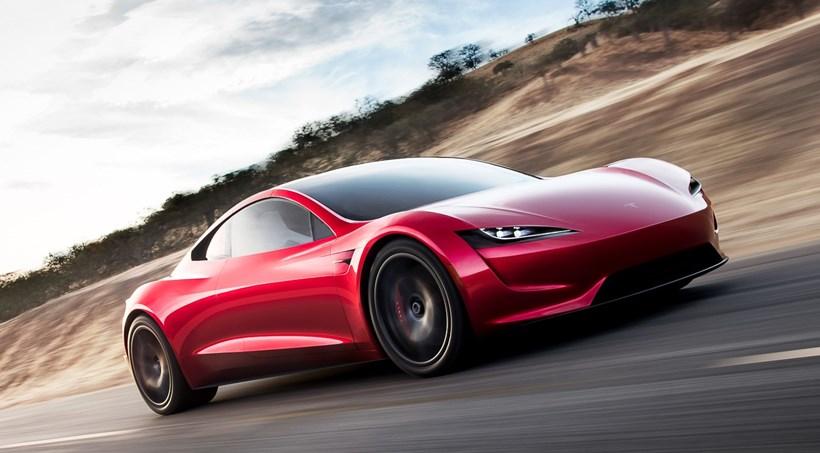 Tesla Roadster - ny